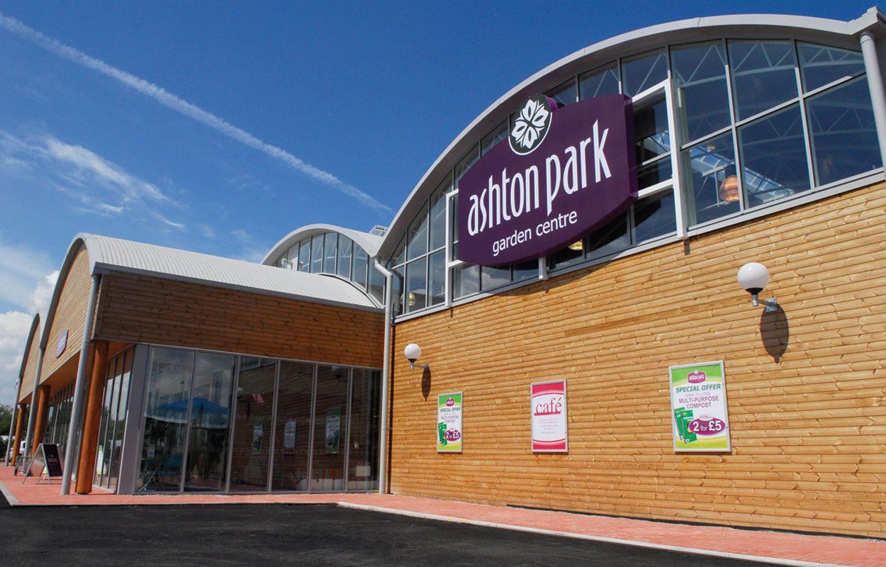 Ashton Park Garden Centre sustainable building Fordingbridge