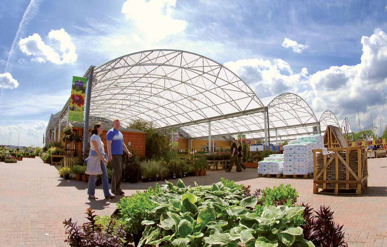 Ashton Park Garden Centre canopy
