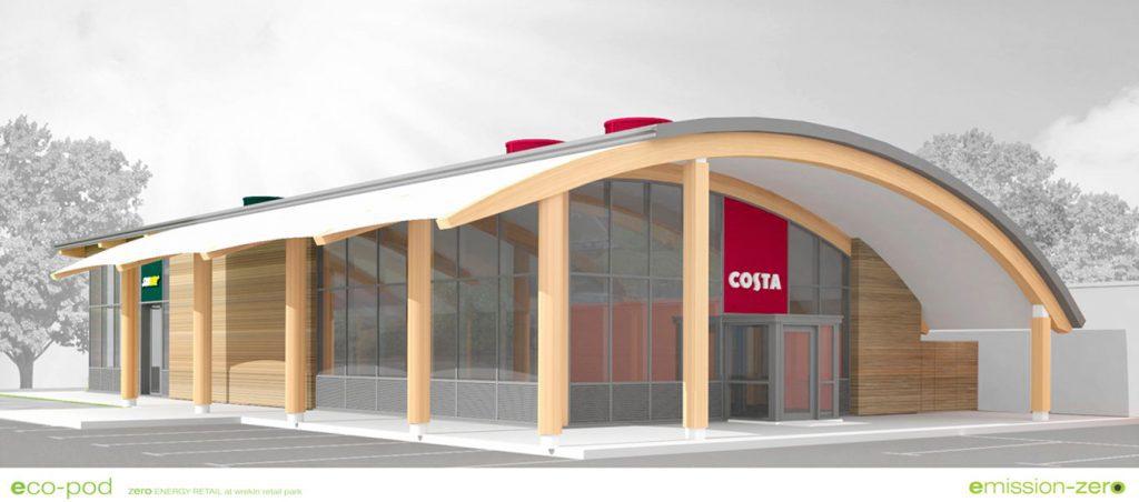 Fordingbridge's Costa Coffee development at Wrekin Retail Park, Telford