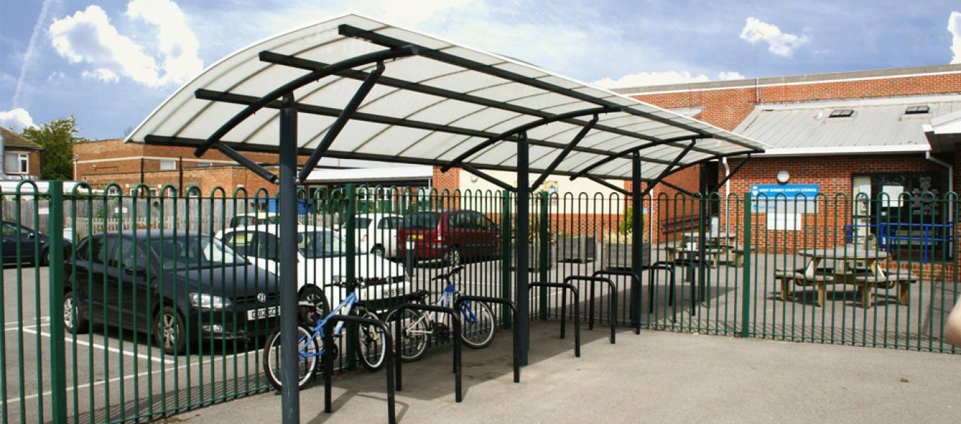 Cycle shelter by Fordingbridge