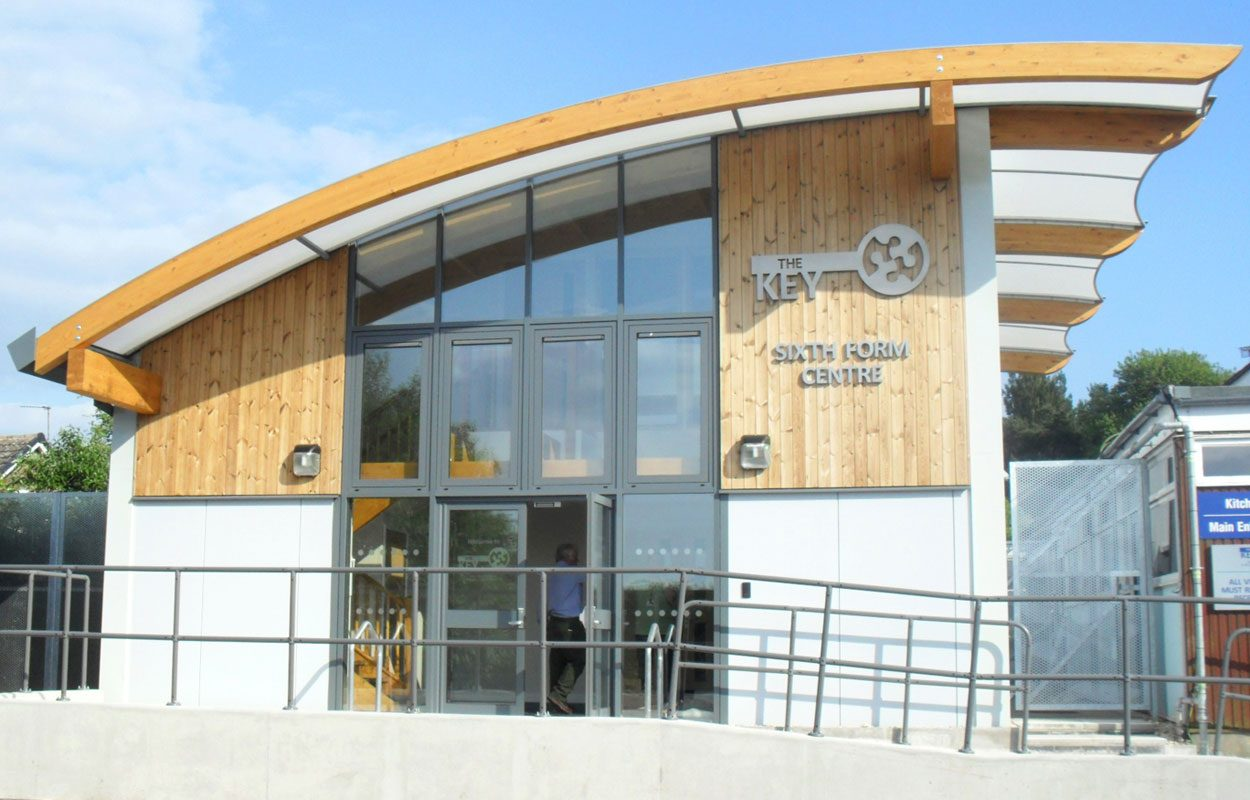 Fairmead School sustainable building Fordingbridge