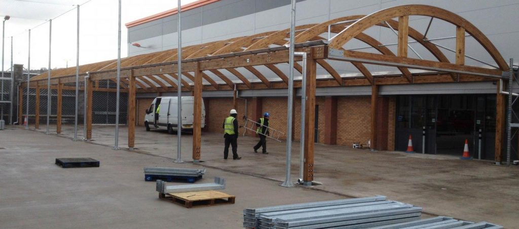 Fordingbridge and B&Q canopies collaboration