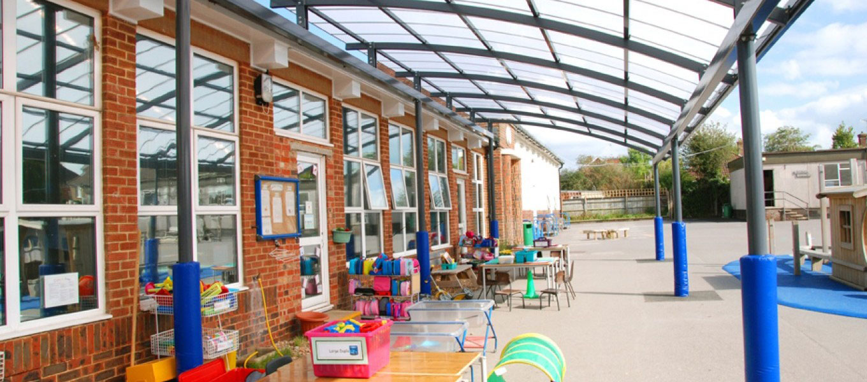 Fordingbridge canopies for schools