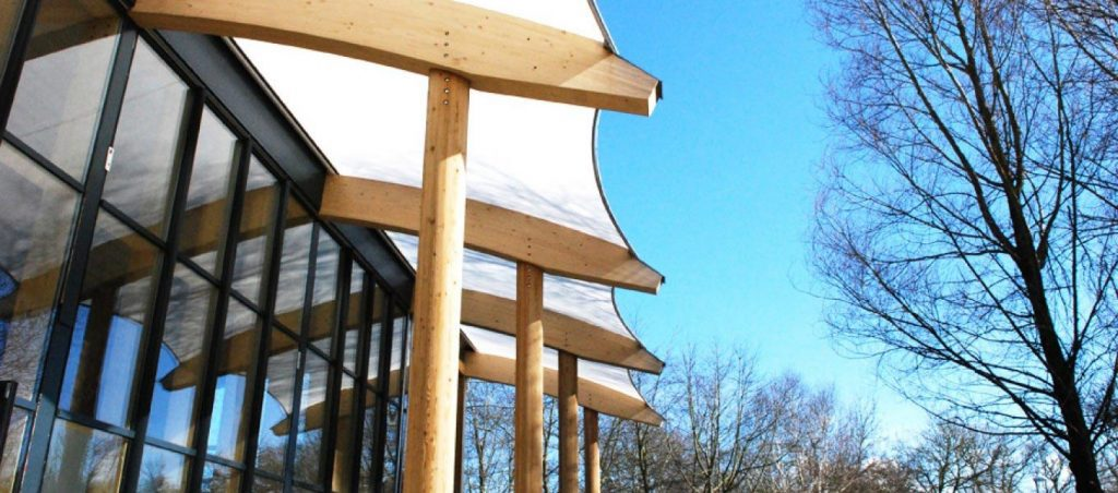 GreenPower Centre sustainable building by Fordingbridge