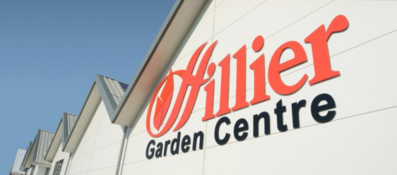 Hillier Garden Centre buildings