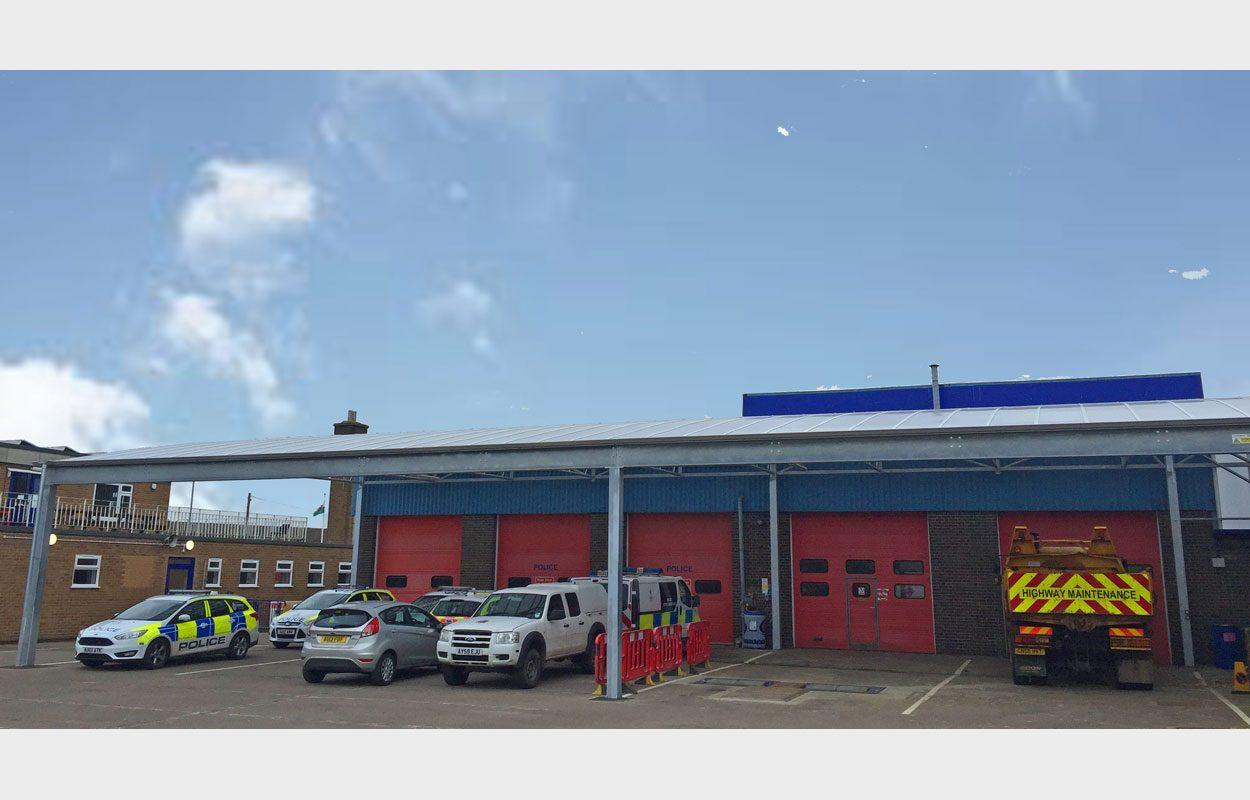Kings Lynn Fire Station Fordingbridge
