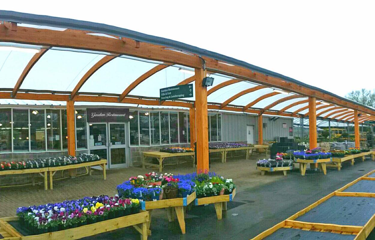 Garden Centre: Garden Centre Canopies