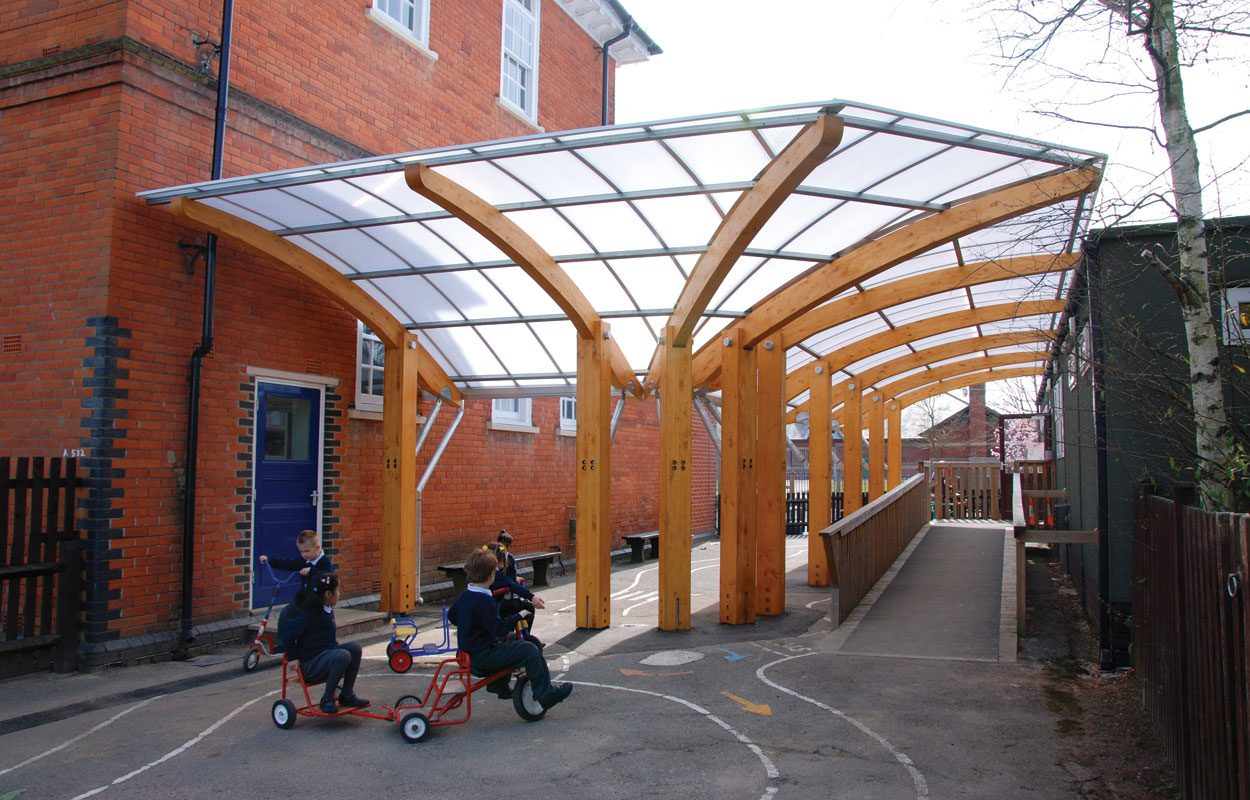 Marlborough-Infant-School-timber-canopy-by-Fordingbridge-2
