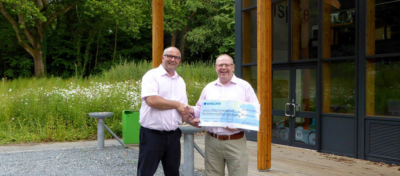 Ray Hole Architects donates to Asiatic Lions Campaign, pictured at Fordingbridge