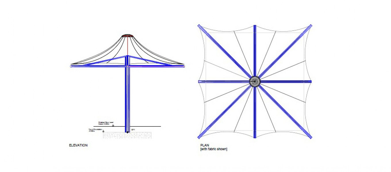 School canopy designs by Fordingbridge
