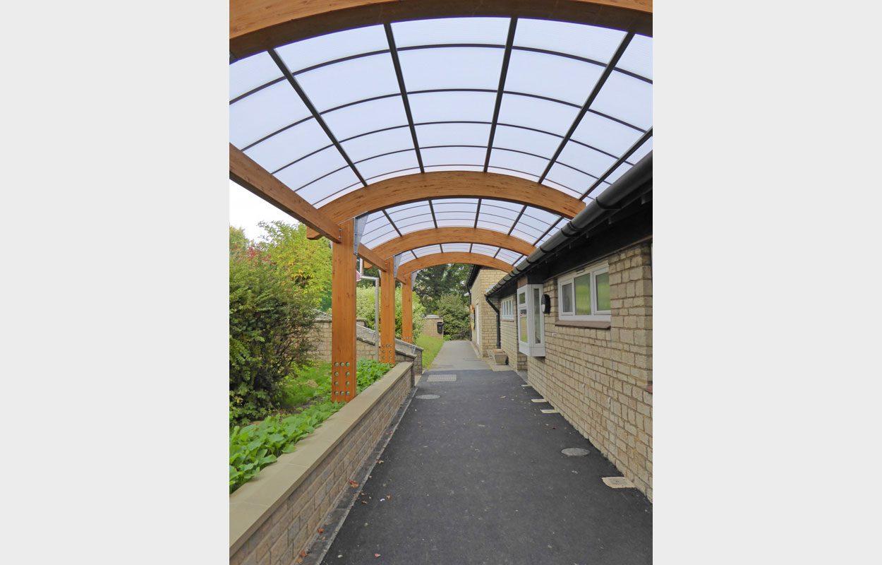 St Sampson S Primary School Fordingbridge Canopies
