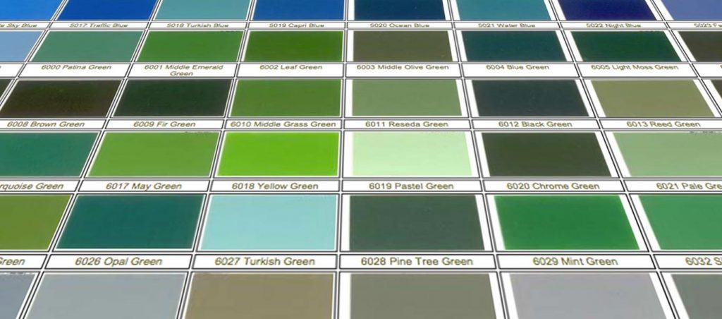 Steel frame finish colour options Fordingbridge