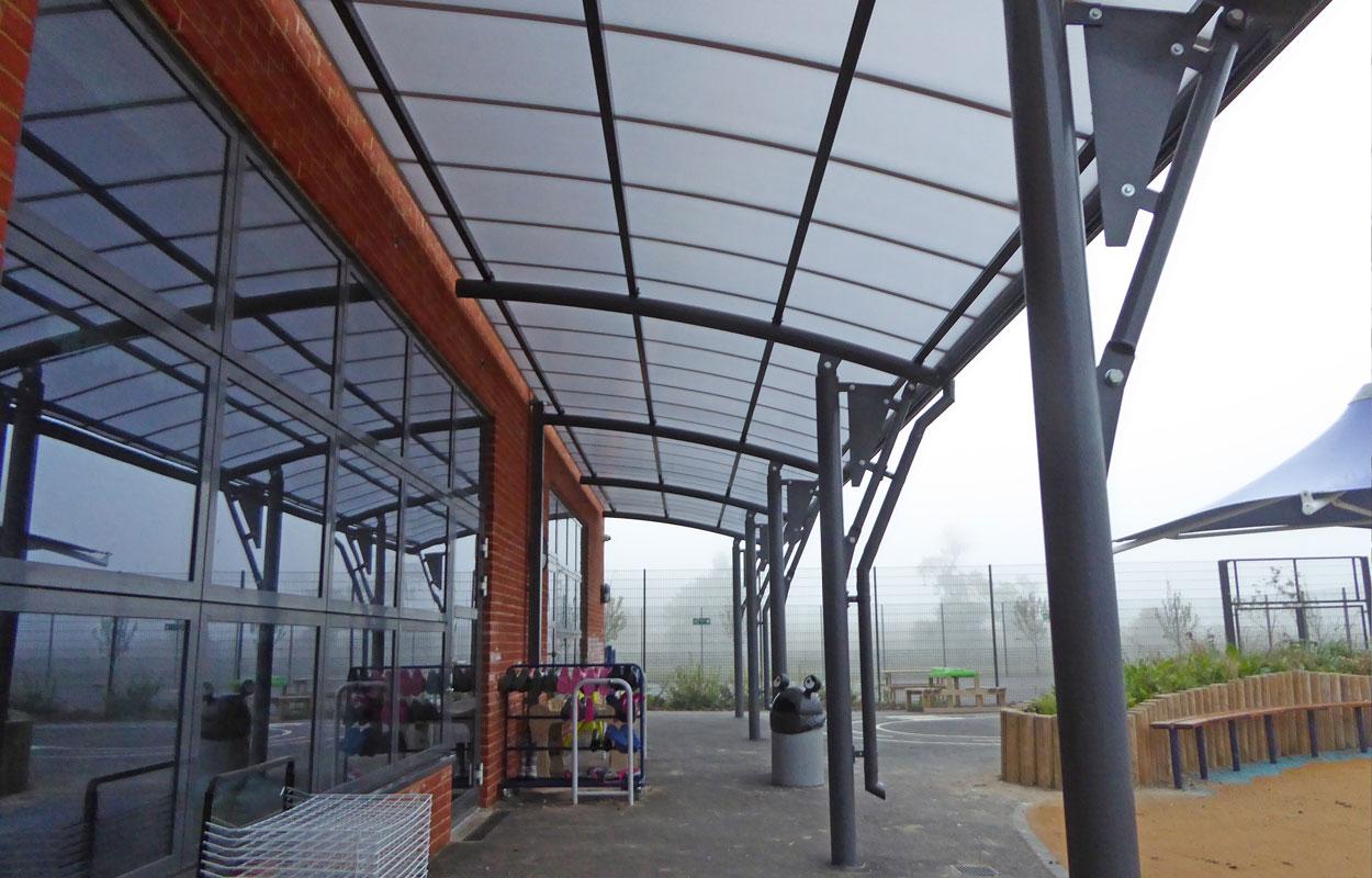 Wellington Primary School Canopies