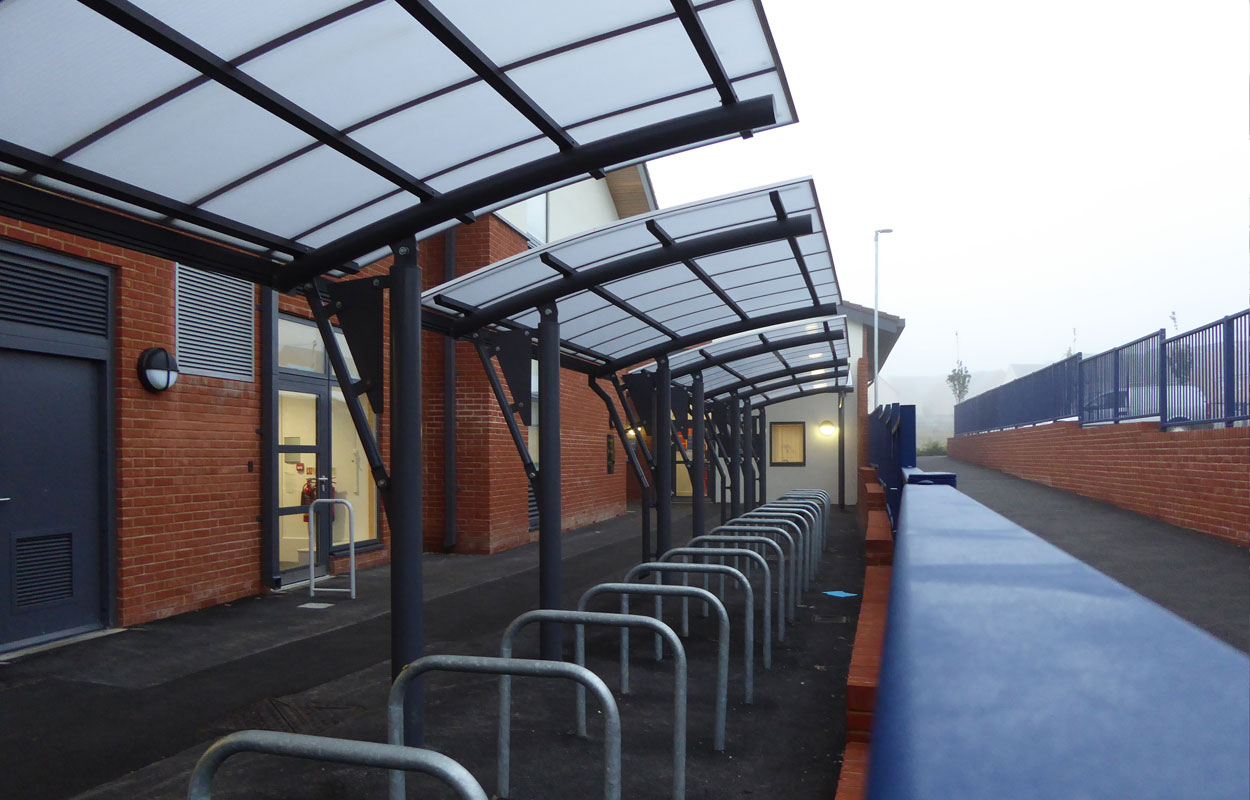 Wellington Primary School Cycle Shelter