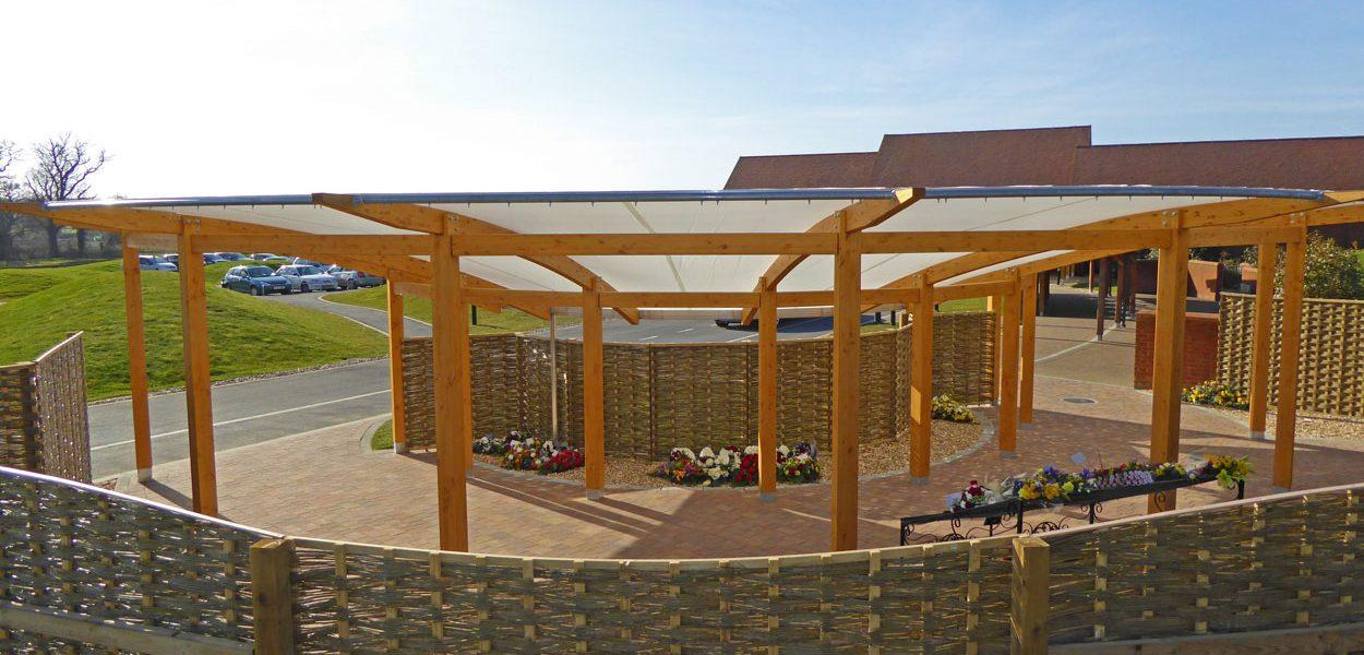 Wessex Vale Crematorium floral tribute Fordingbridge