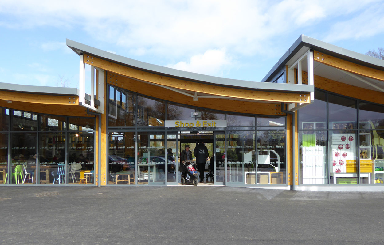 Whipsnade Zoo Visitor Centre