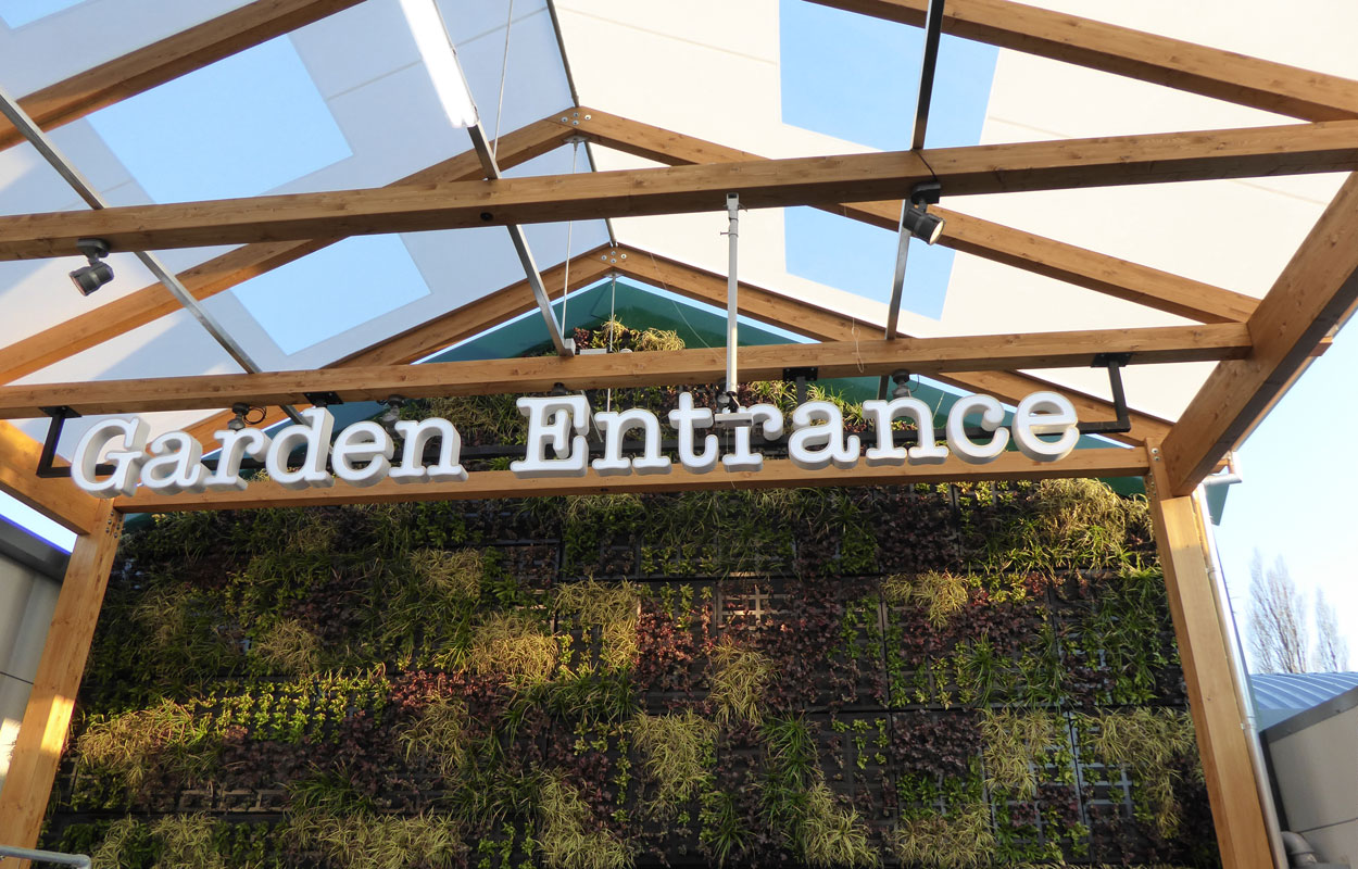 Garden: Wyevale Garden Centre