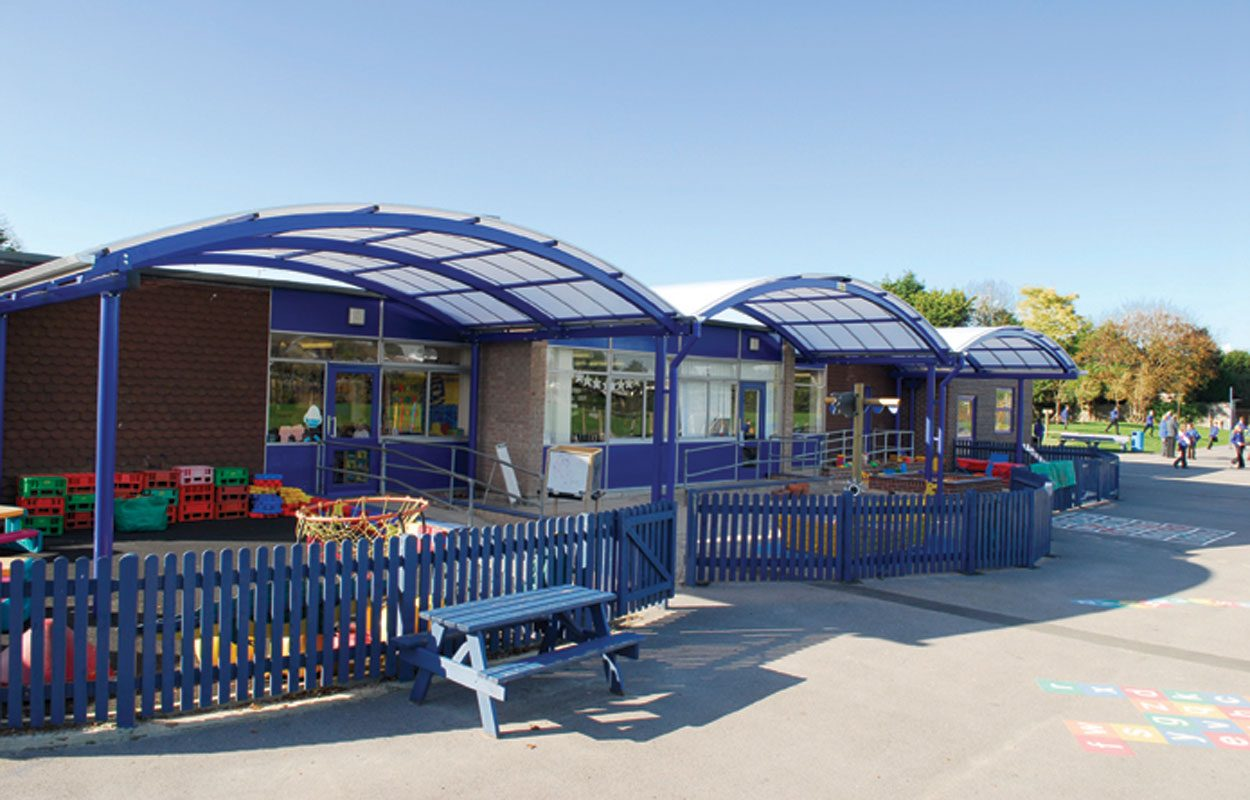 Barnham Primary School playground structures by Fordingbridge