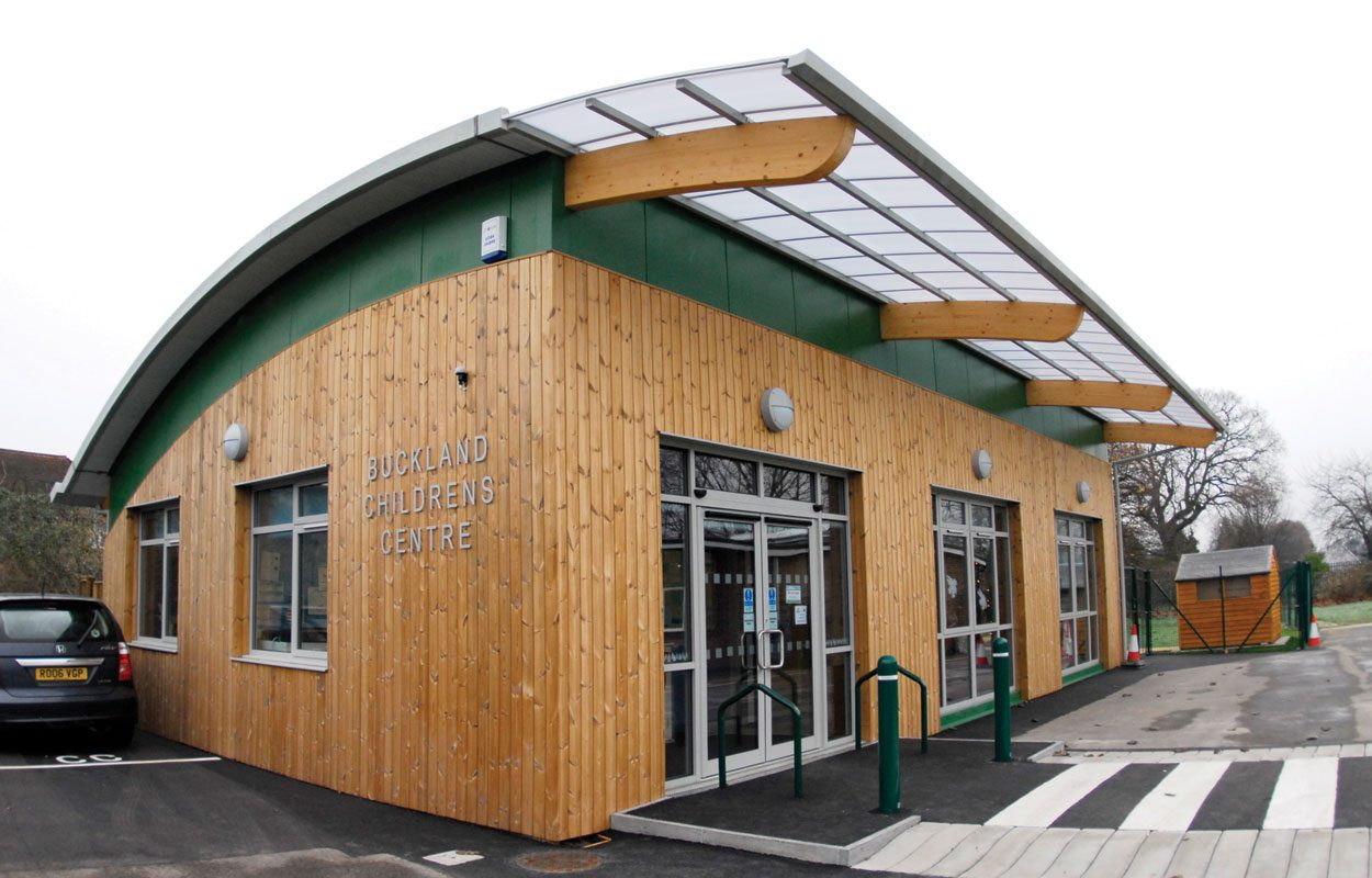 Buckland Sure Start Childrens Centre sustainable nursery building by Fordingbridge