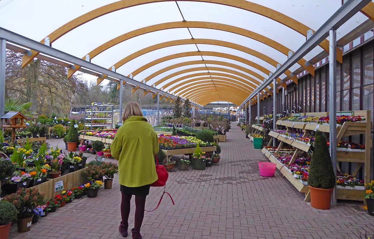 Bybrook Barn Fordingbridge hybrid canopy