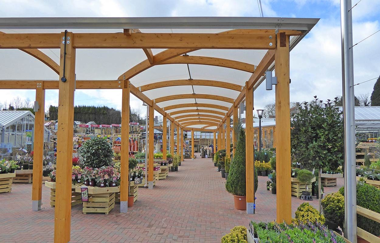 Fordingbridge-Almondsbury garden centre-timber- walkway