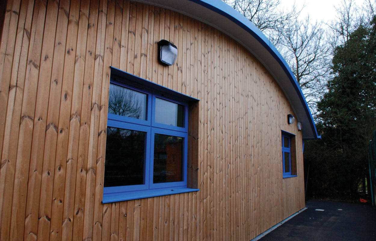 Playlinks Childrens Centre inspiring building by Fordingbridge