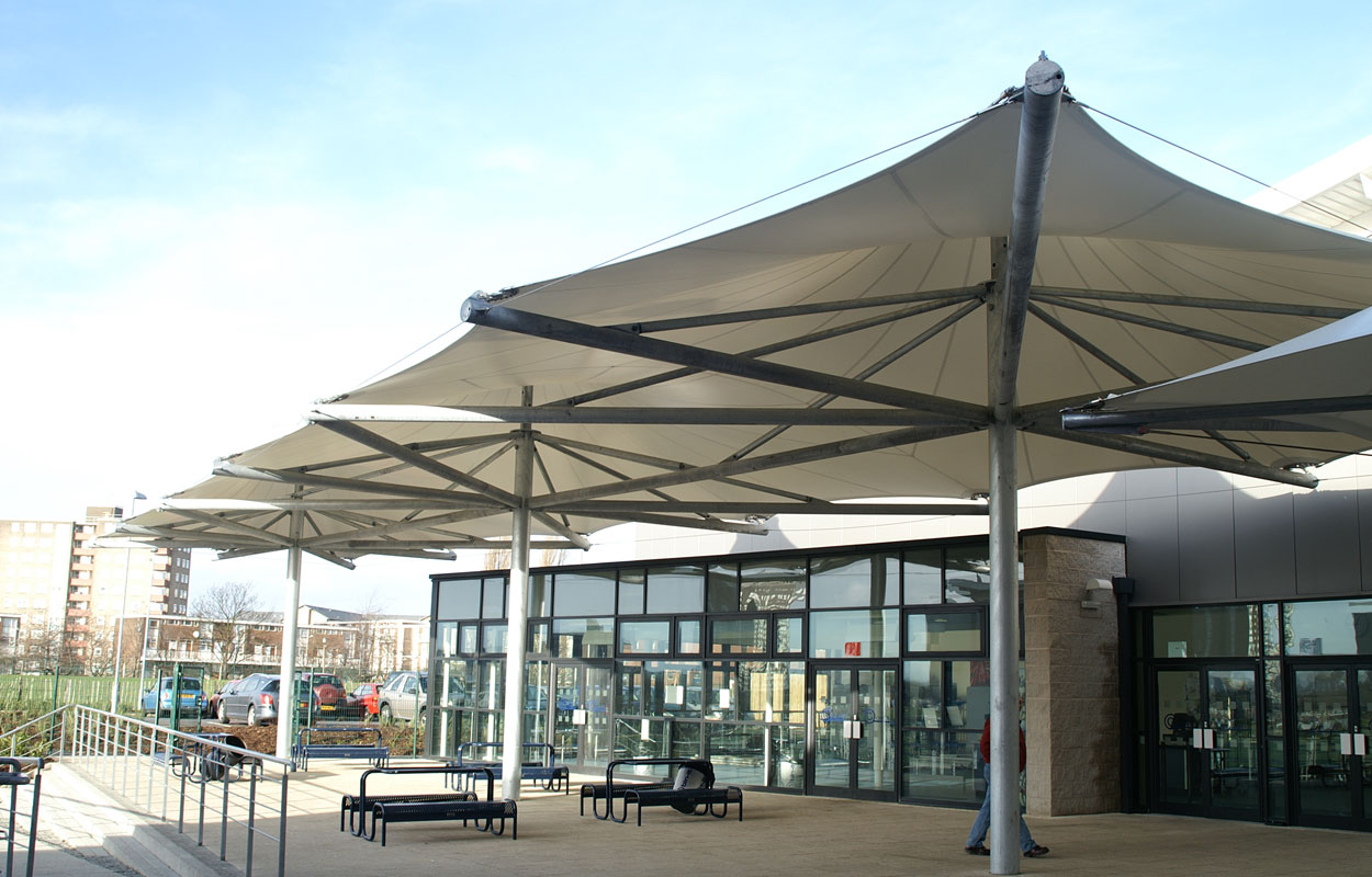 Shakespeare and Primrose School & Canopies u0026 walkways - Bespoke tensile fabric structures Archives ...