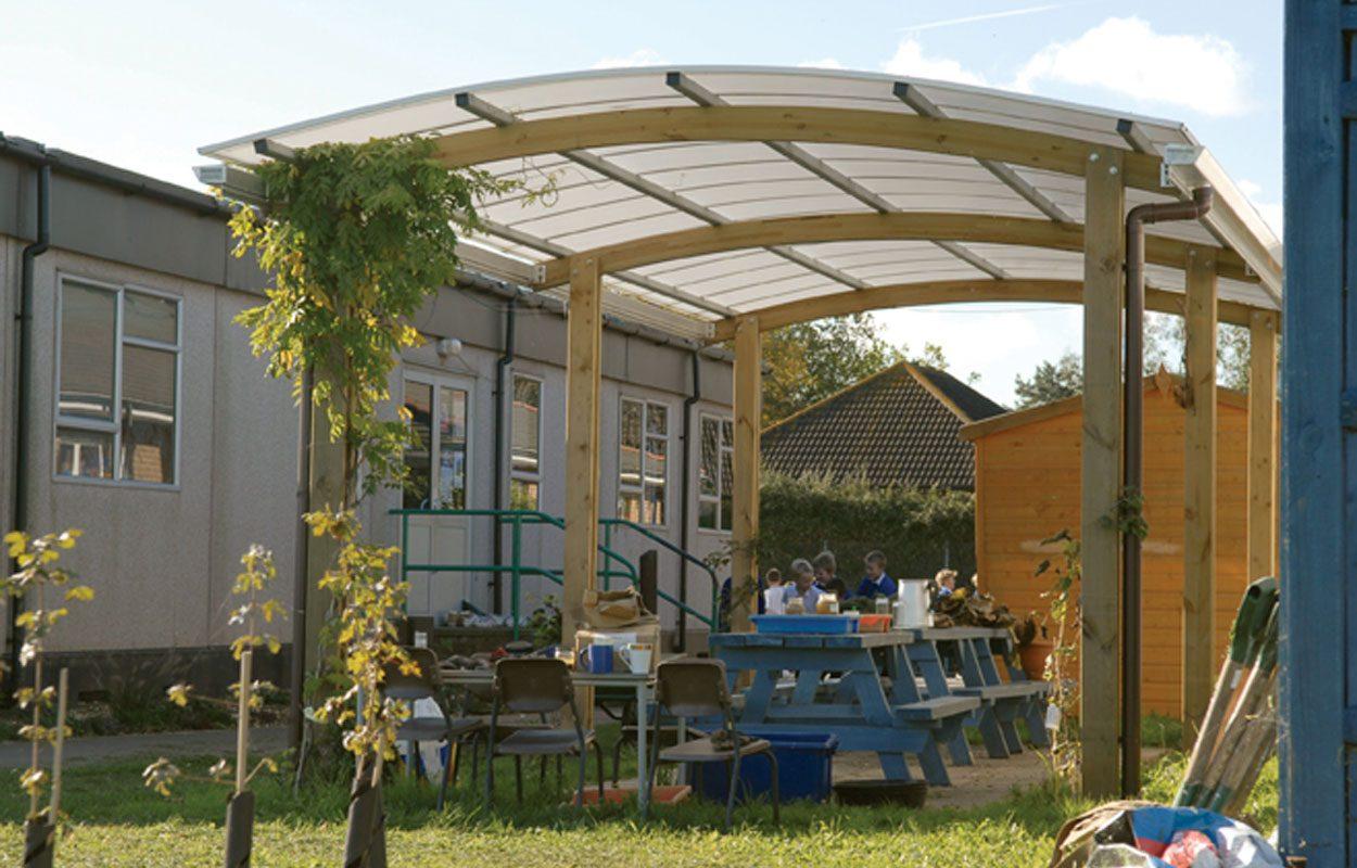 Tangmere Primary School Nash canopy by Fordingbridge
