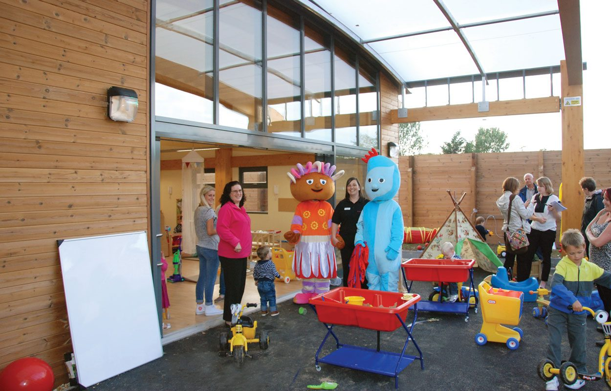 Tops Day Nursery inspiring sustainable building by Fordingbridge
