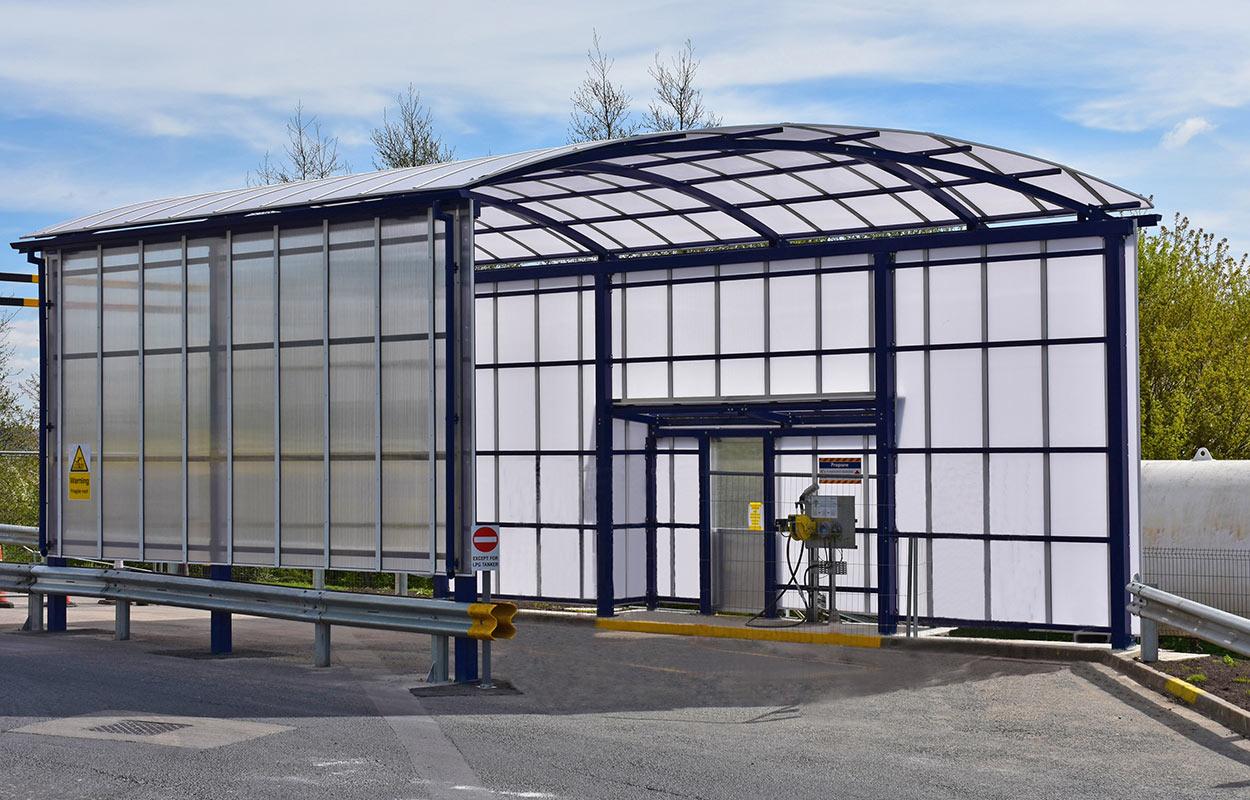 LPG Refuelling canopy