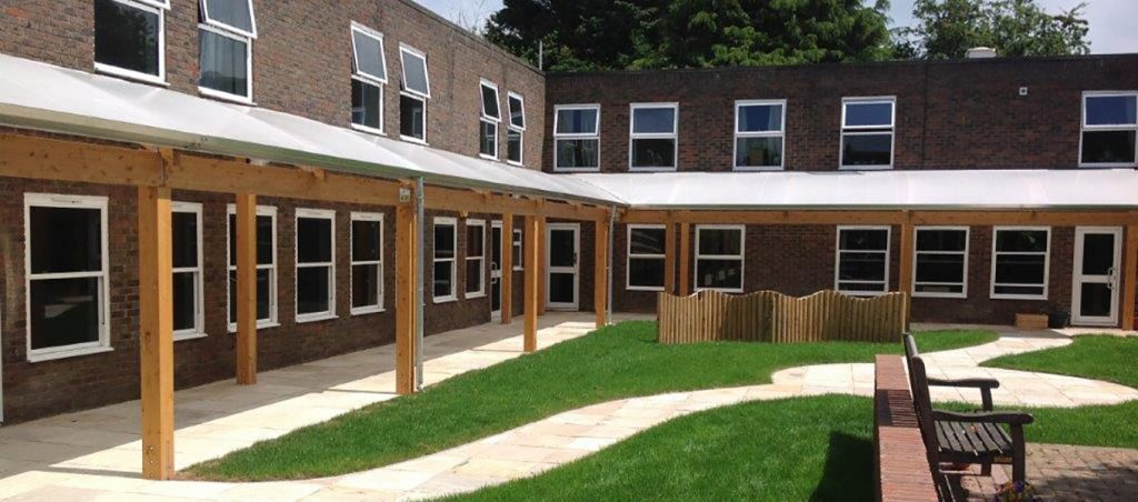 Chiltern Gate School Fordingbridge Timber Walkway