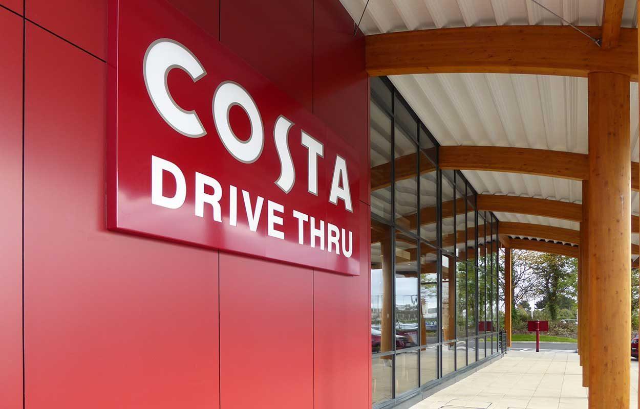 Fordingbridge building Costa Parc Tawe Wales