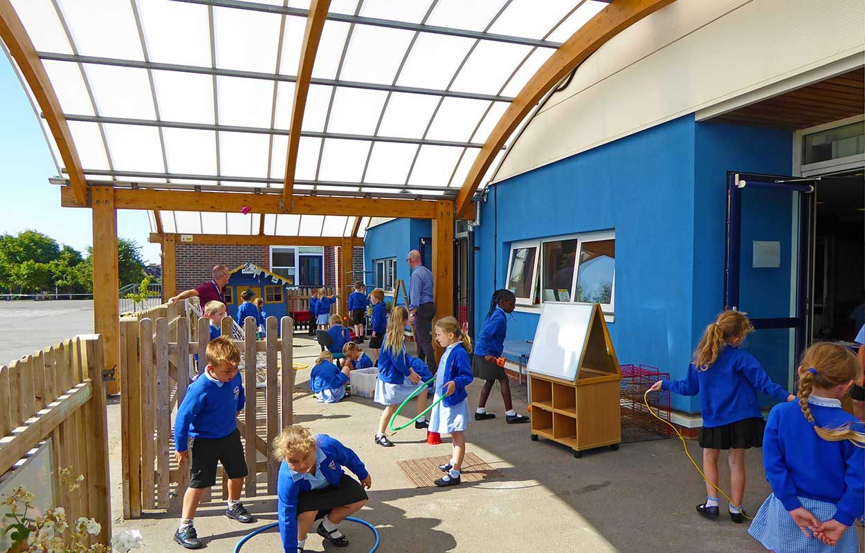 Riverbeach-School-Fordingbridge-timber-canopy