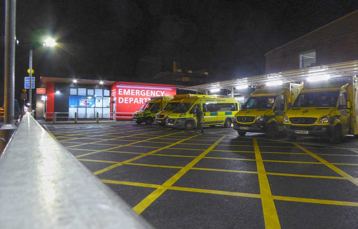 East Surrey Hospital Fordingbridge Building