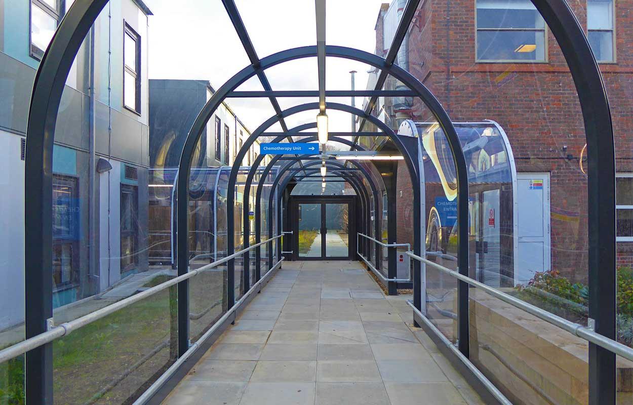 East Surrey Hospital Walkway