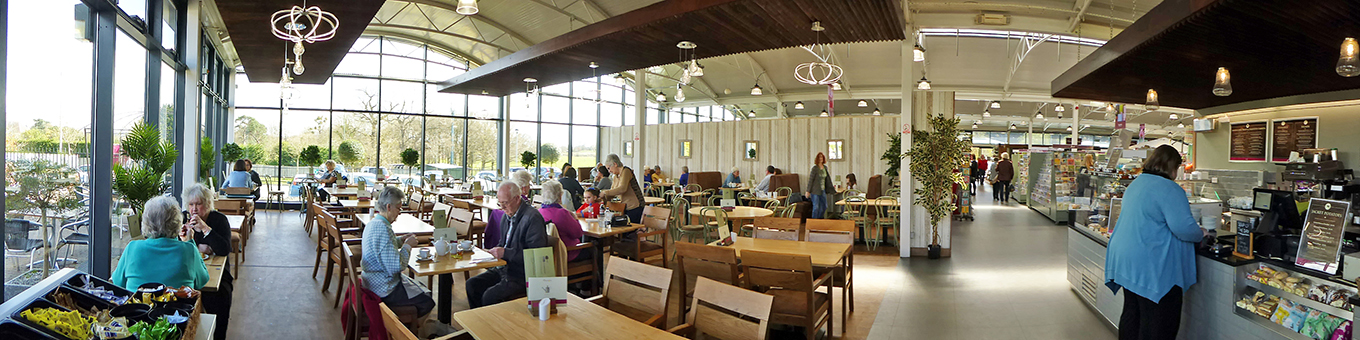 Garden Centre Cafe Long Ditton Fordingbridge buildings