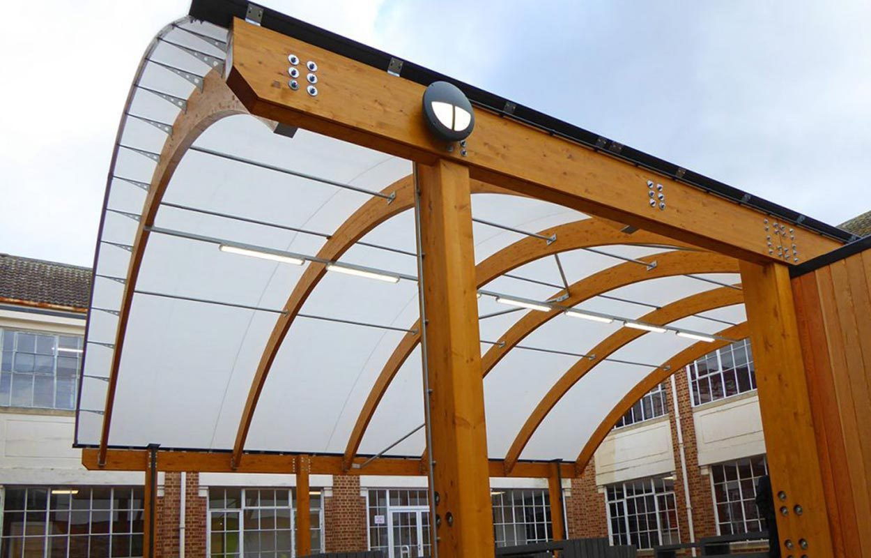 Pittville School barrel vault Fordingbridge canopy