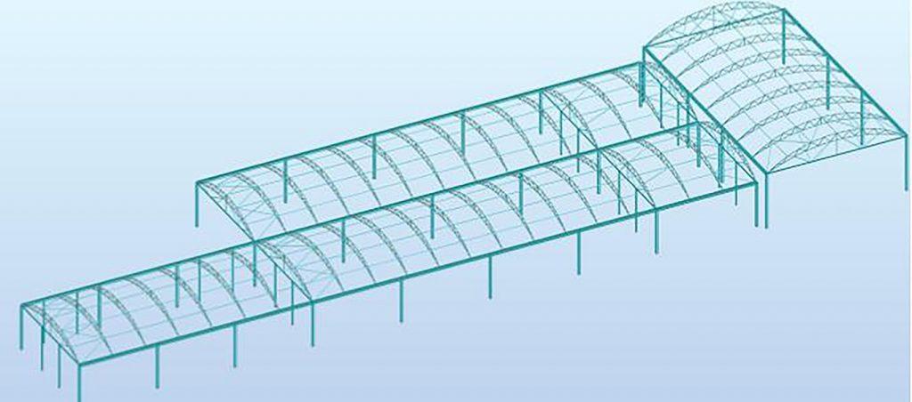 Structural calcs of Fordingbridge canopy