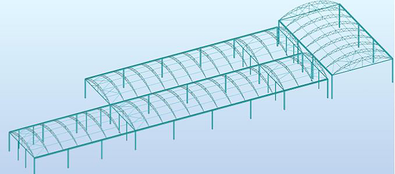 Structural calcs of Fordingbridge canopy