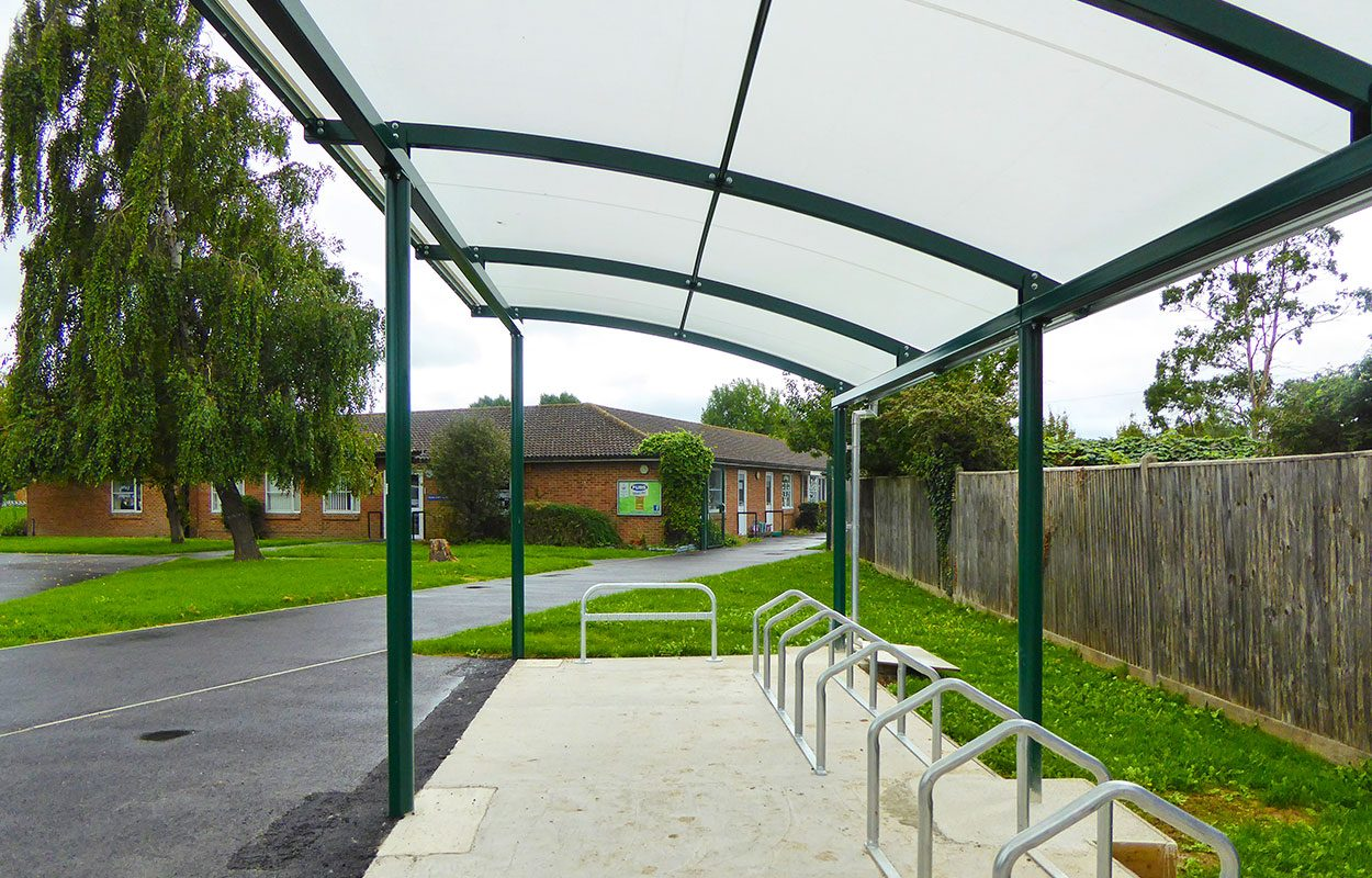 Upper Beeding School Cycle Shelter Fordingbridge