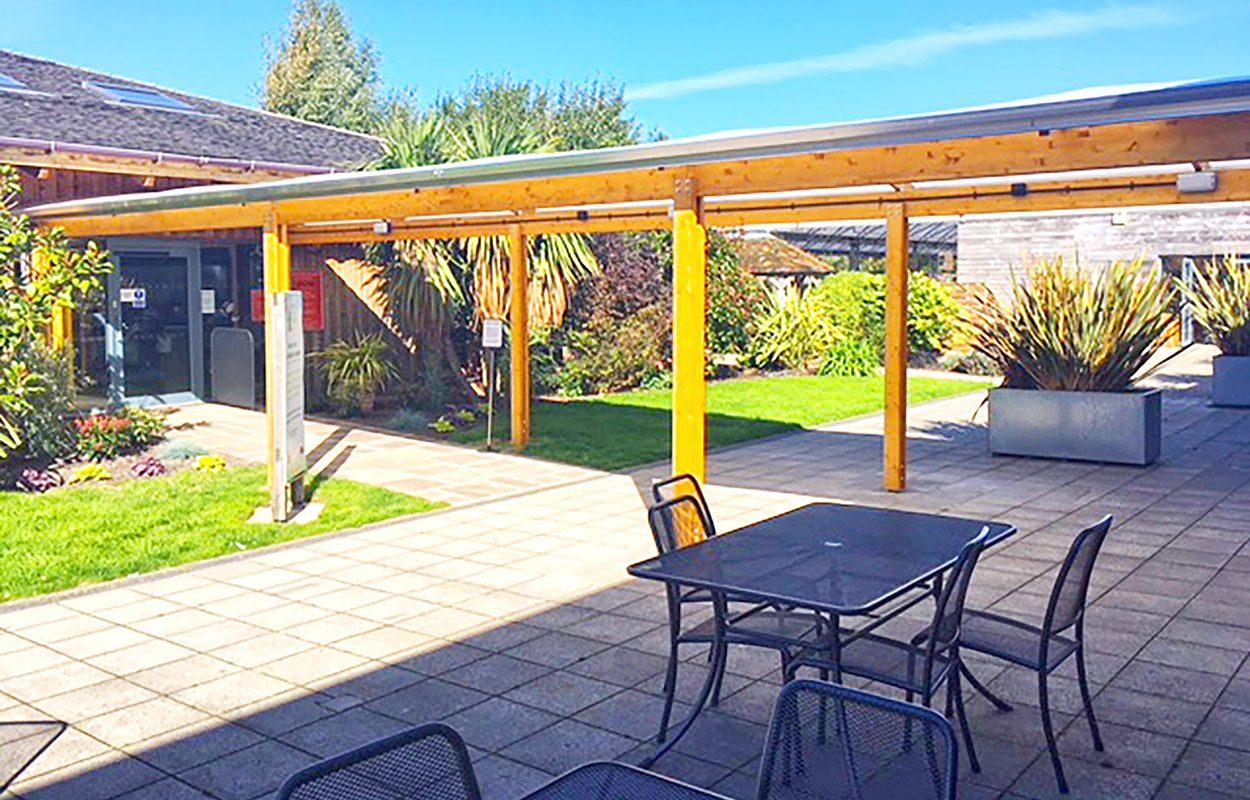 Dobbies Garden Centre Southport Fordingbridge timber walkway