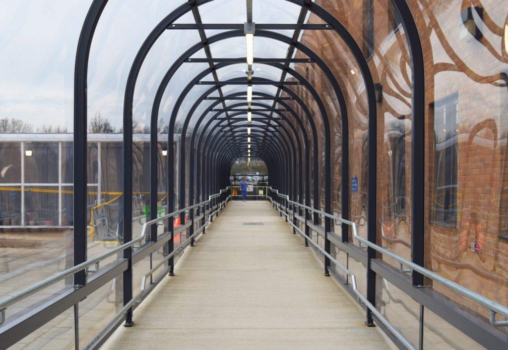 NNUH Covered Walkway