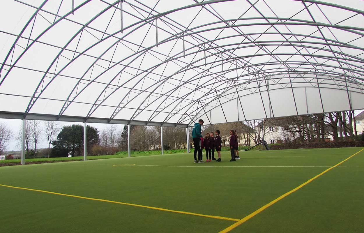 St Stephens School MUGA canopy