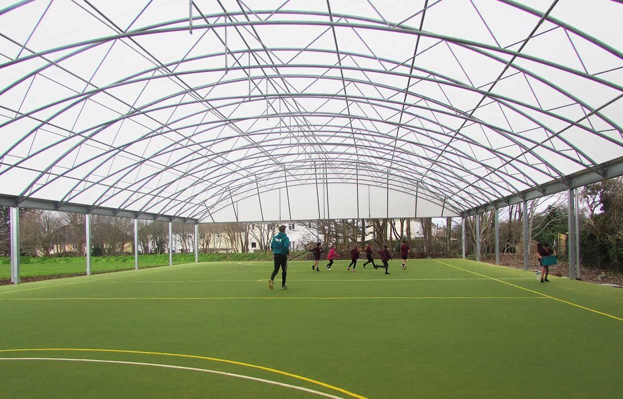 St Stephens School MUGA canopy web 3