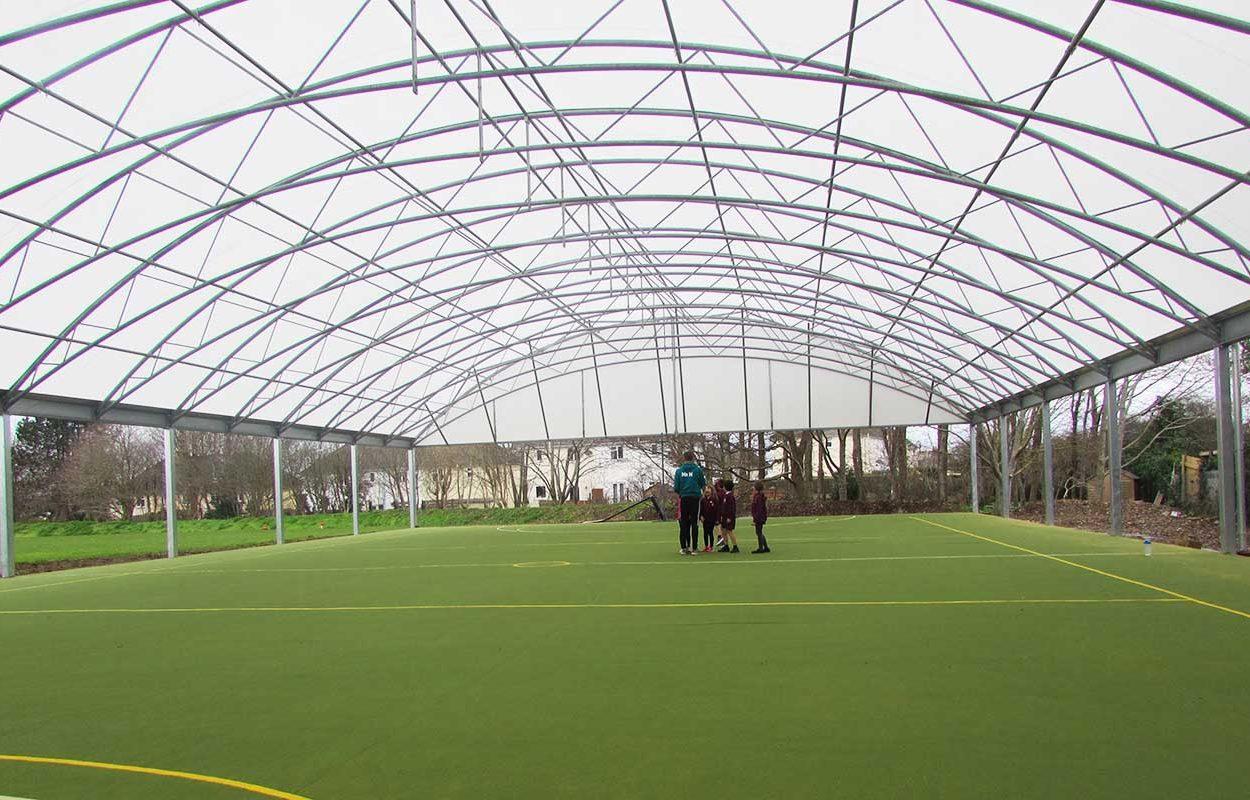St Stephens School MUGA canopy web 4