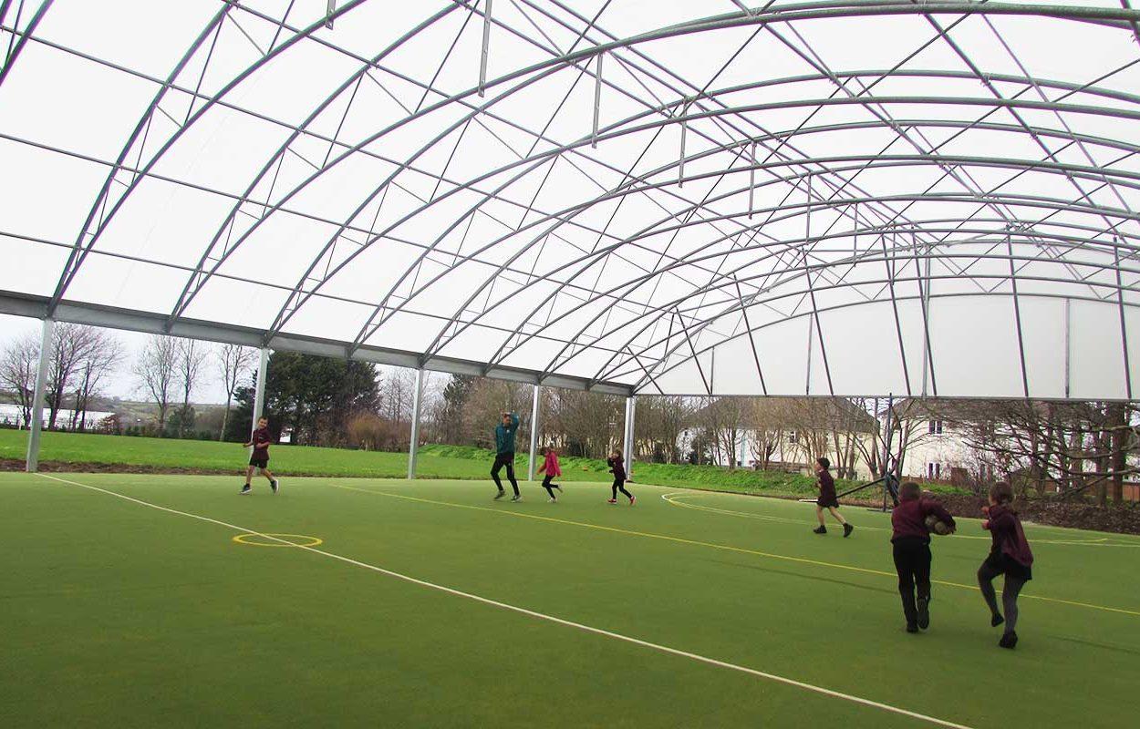 school muga canopy