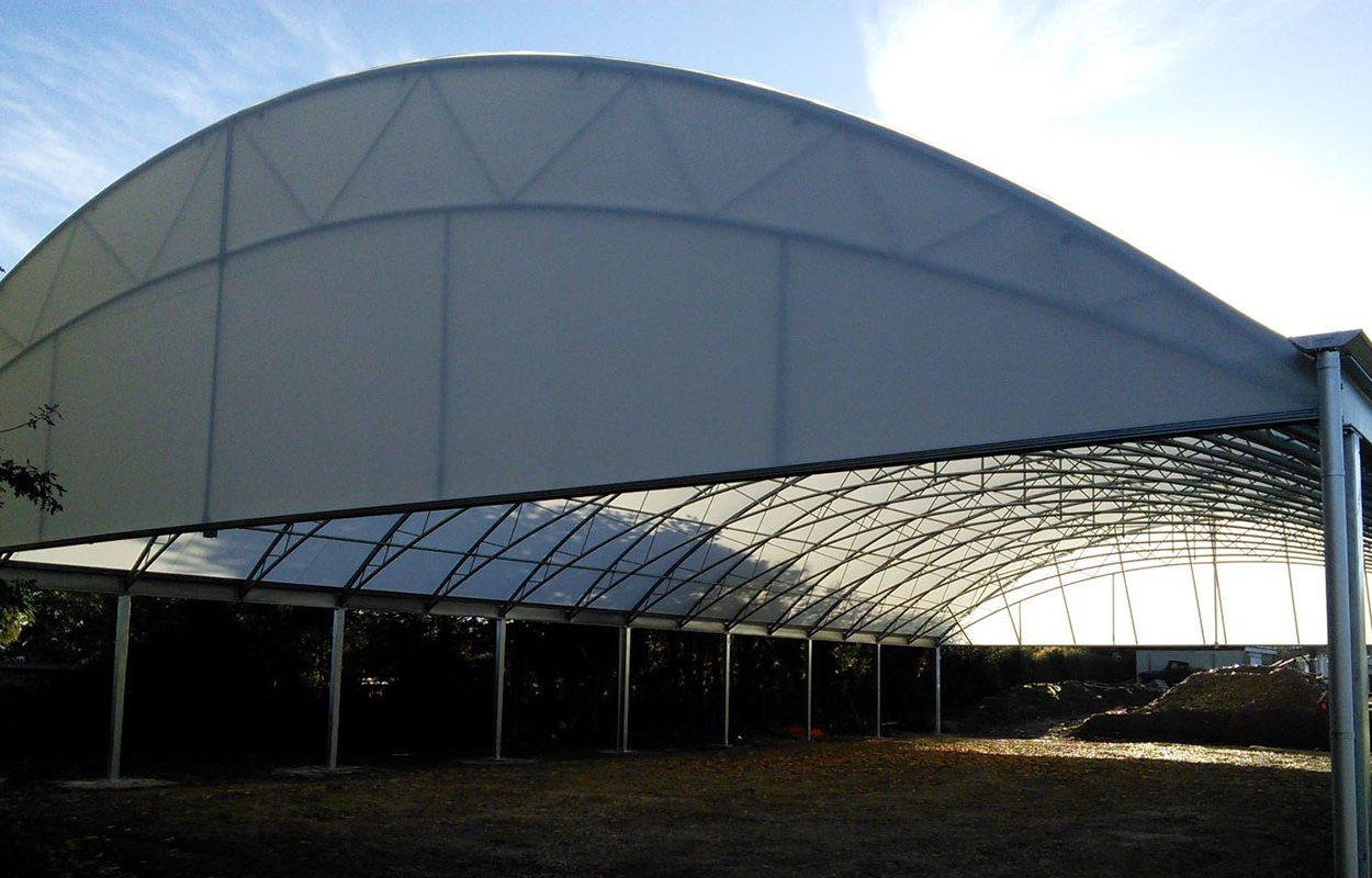 St Stephens School MUGA canopy web MID BUILD 2