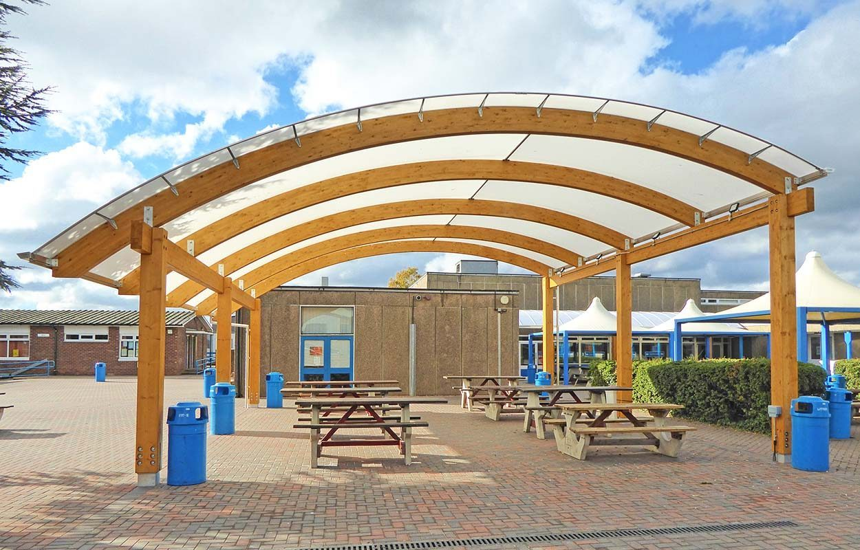 West Bridgford Fordingbridge timber canopy3