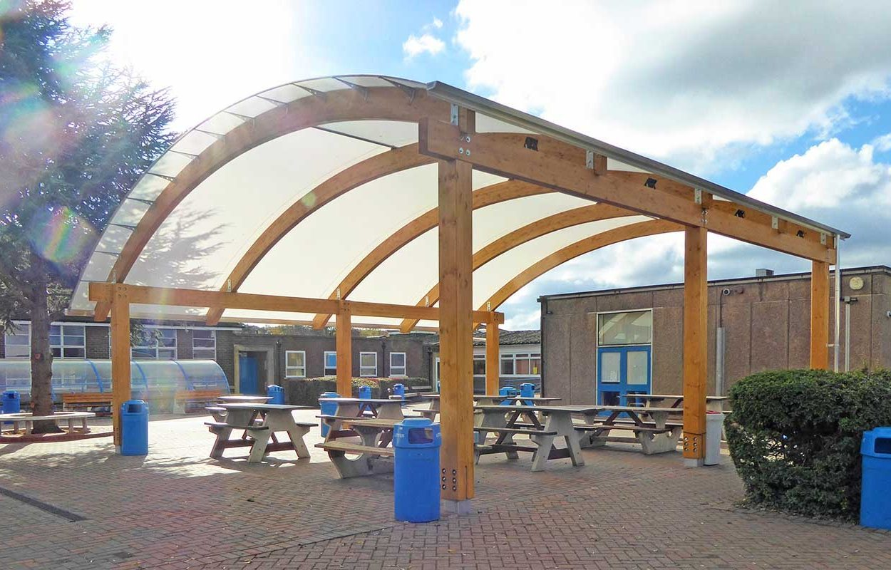 West Bridgford Fordingbridge timber canopy5