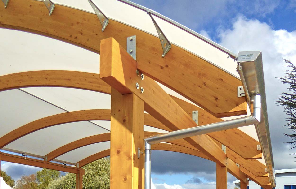 West Bridgford Fordingbridge timber canopy6